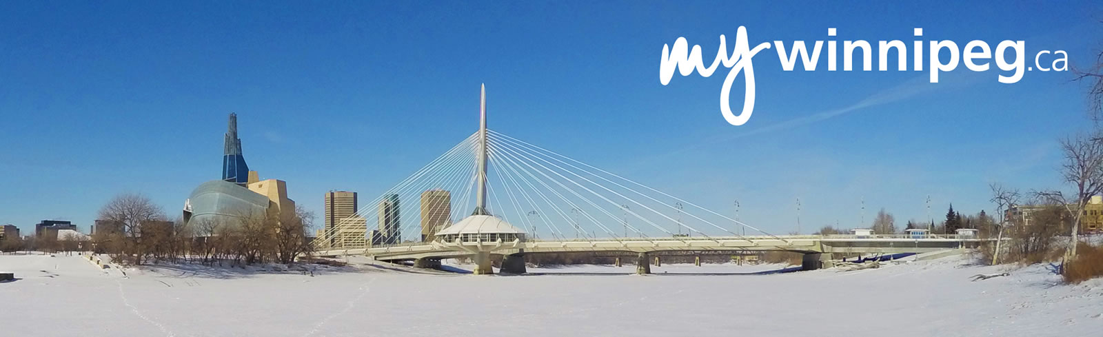 My Winnipeg - Winter Bridge