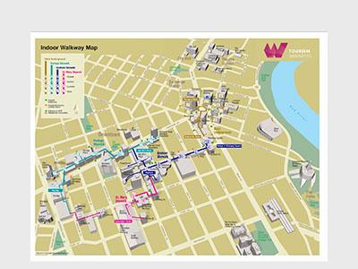 Indoor Skywalk Map
